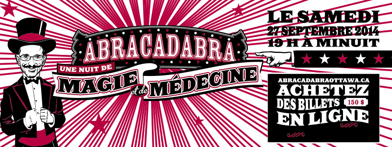 Abracadabra website button